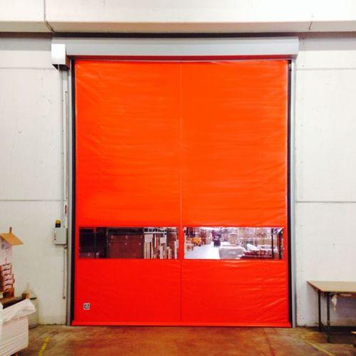 roll-up door / industrial / indoor / high-speed