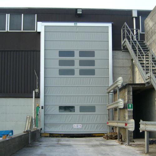 fold-up door / indoor / high-speed