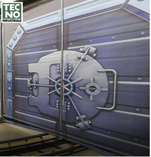 security door / self-repairing