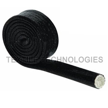 fiberglass sleeve / thermal protection / tubular / for cables