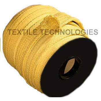 aramid fiber sleeve / thermal protection / braided / aramid yarn