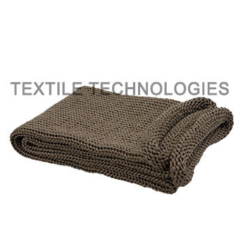 basalt fiber sleeve / thermal protection / flat / for cables