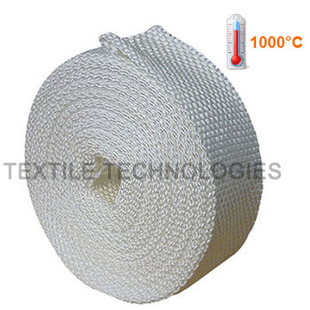 thermal insulation tape / silica / high temperature-resistant / webbing