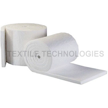 ceramic fiber insulating blanket / fire-retardant / woven