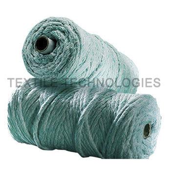 fiberglass yarn / blue