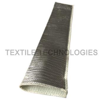 aluminized sleeve / tubular / fabric / glass