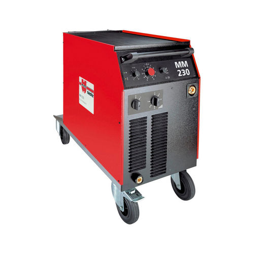 MIG-MAG welder / mobile / with 2-roll wire feeder