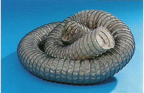 gas hose / high-temperature / conveying / fabric