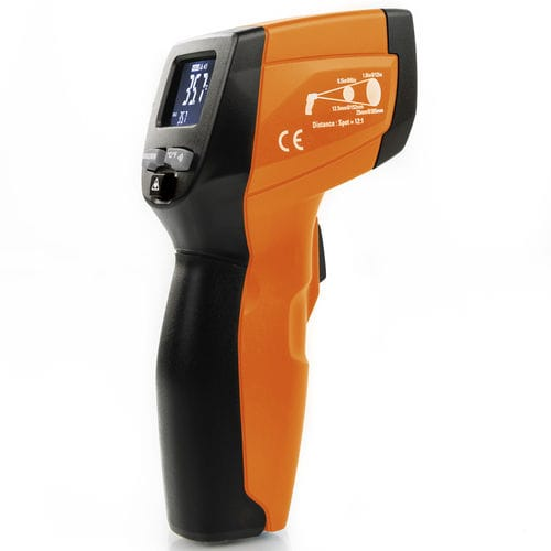 infrared thermometer / digital / hand-held / compact