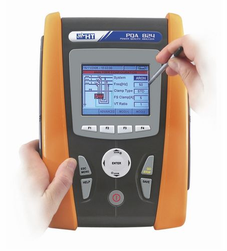 electrical network analyzer / power quality / harmonic / portable