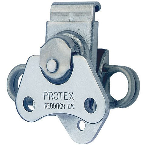 zinc-coated steel draw latch