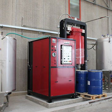solvent distiller / automatic