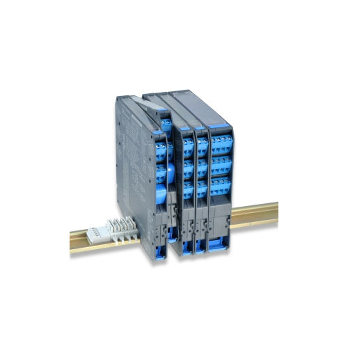 safety protection relay / DIN rail / IEC