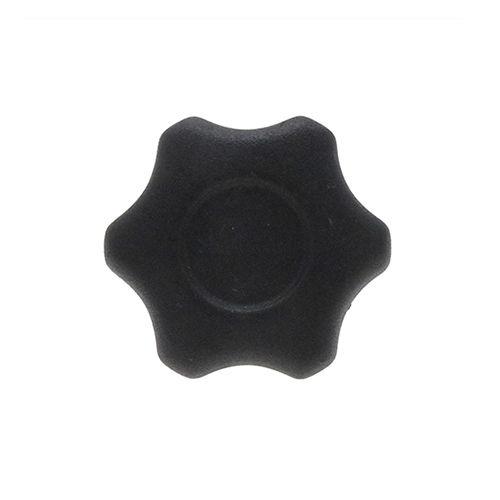 star knob / threaded / PA6 plastic / with stud
