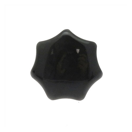 star knob / threaded / phenolic resin / steel