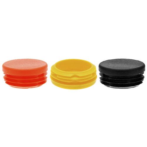 press-in insert / plastic / round