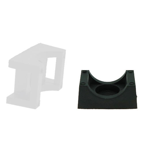 heavy load cable tie mount / snap-on / plastic