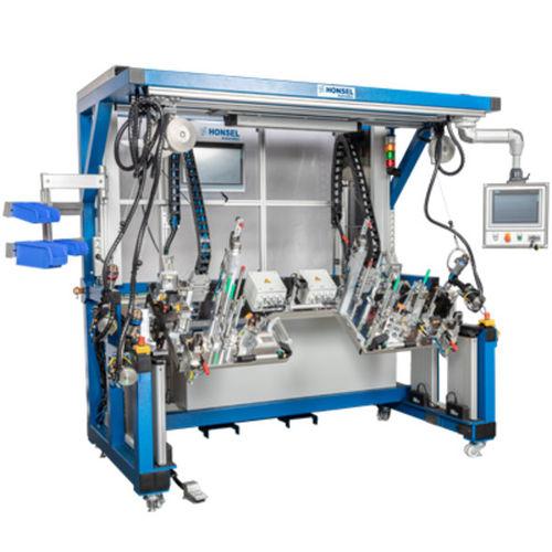 assembly workstation / ergonomic / height-adjustable / manual