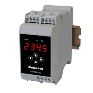 DIN rail mount temperature transmitter / Pt100 / Pt1000 / thermocouple