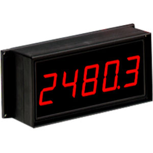 LED display / large-format / 5-digit / 7-segment