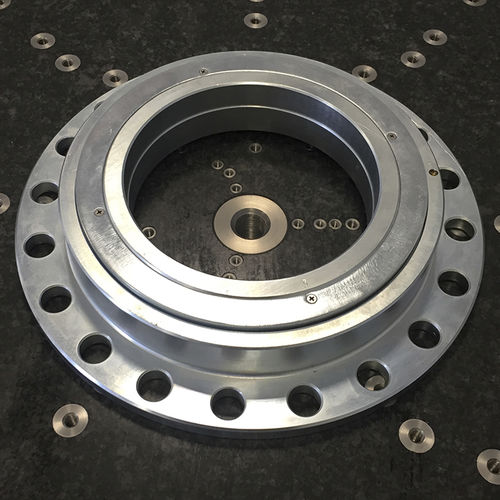 slewing ring without teeth / ball / single-row / for NC rotary tables