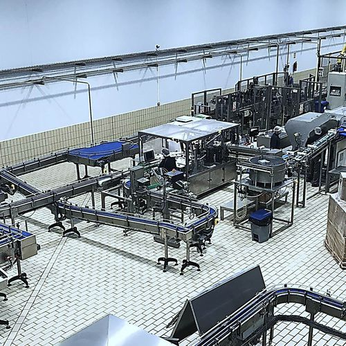 bulk material complete packaging line