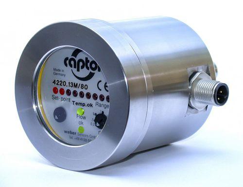 calorimetric flow sensor