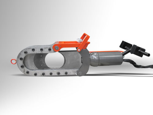manual cable cutter / hydraulic / eye / dual-action