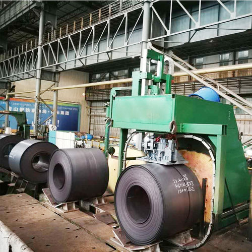 automatic strapping machine / scrap / for cement products / for tiles