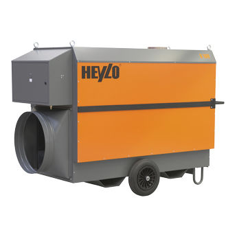 mobile hot air generator