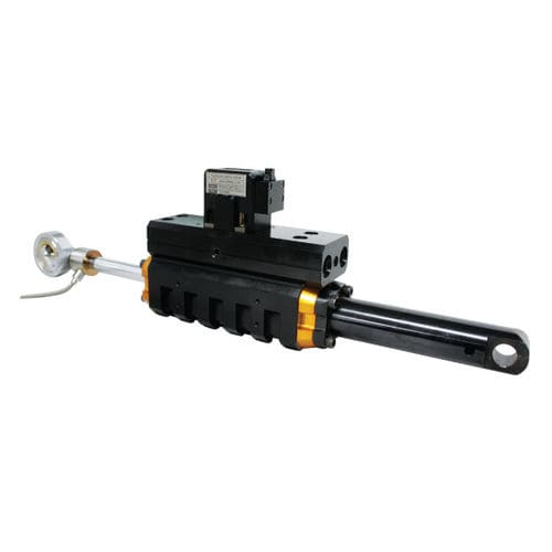 linear actuator / hydraulic / double-rod / compact