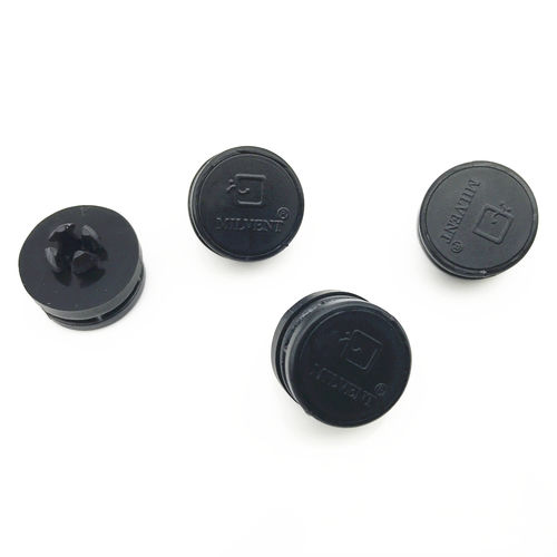 non-threaded end cap / cylindrical / plastic
