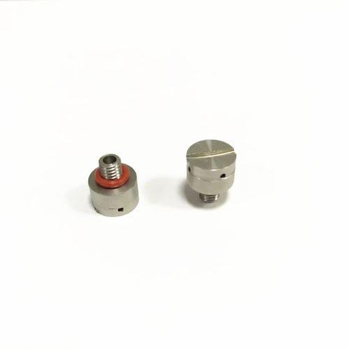 vent plug / cylindrical / male / threaded