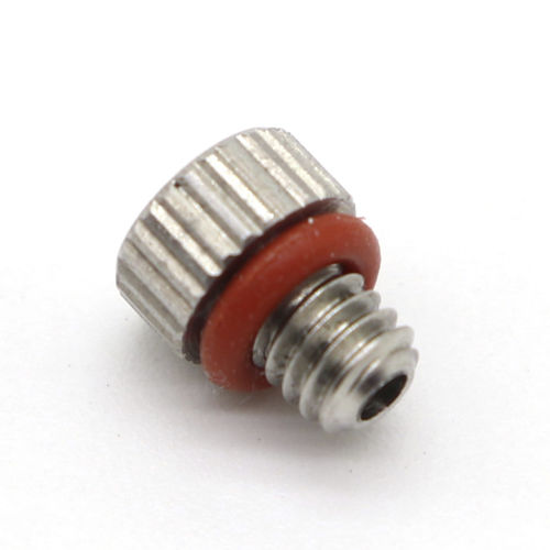 round plug / threaded / metal / protective