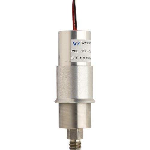 liquid pressure switch / piston / stainless steel / high-pressure