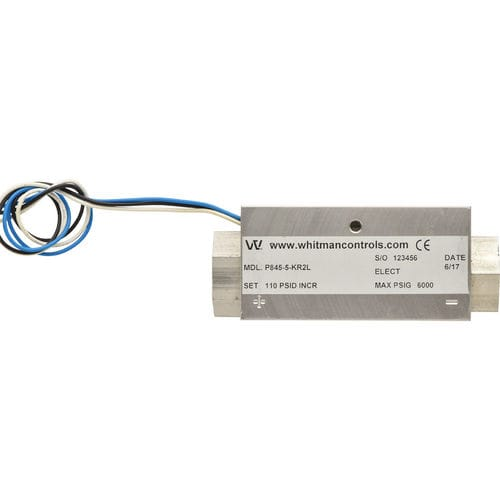 differential pressure switch - Whitman Controls Corporation