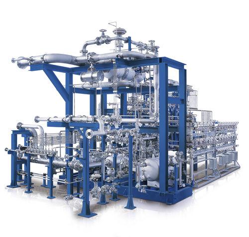 air compressor unit / gas / screw / oil-free
