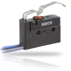 lever switch / single-pole / electromechanical / snap-action