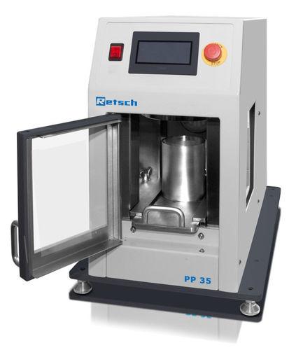 XRF sample preparation pellet press - Retsch GmbH