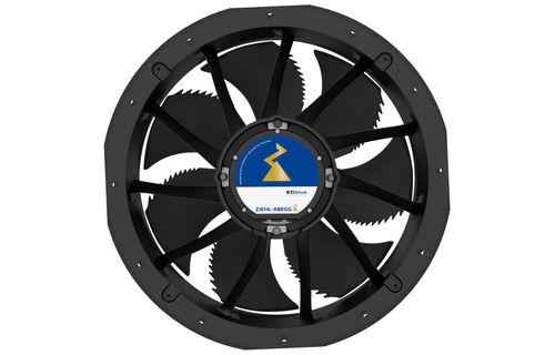 axial fan / ventilation / EC / high-performance