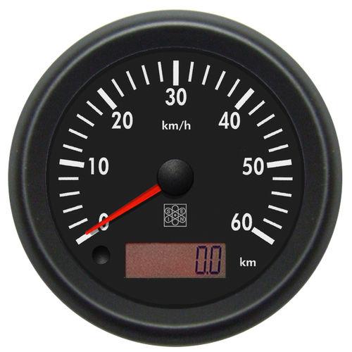 speed meter / digital / analog / panel-mount