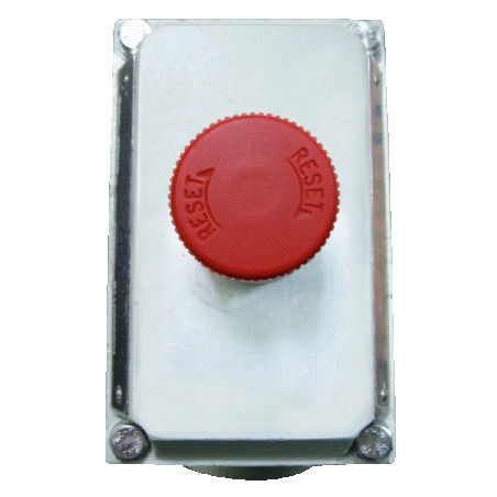emergency stop control station box