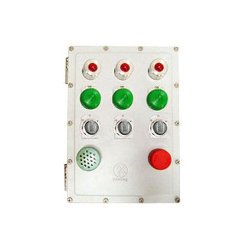 3-button control station box