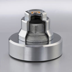 non-threaded end cap / cylindrical / plastic / for hex bolts