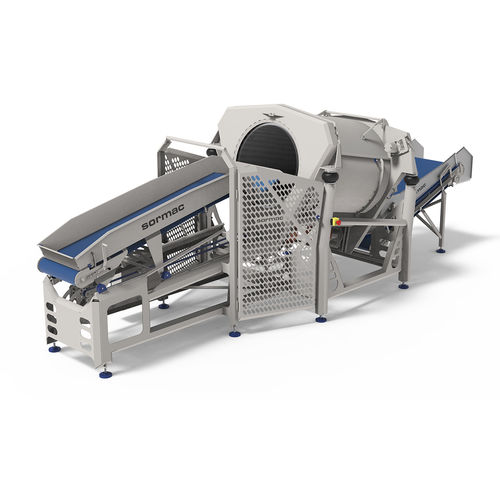 rotary drum dryer / continuous / for vegetables