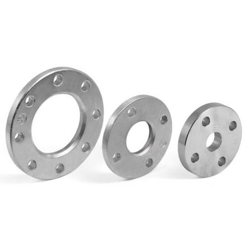 pipe flange / stainless steel / aluminum / through-hole