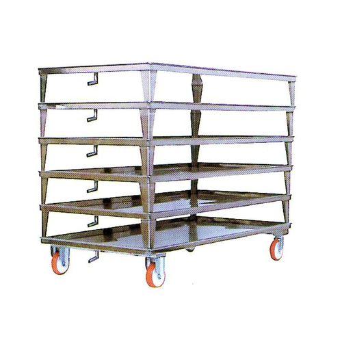 cheese trolley / storage / handling / stainless steel