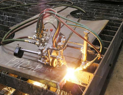 metal cutting machine / oxy-fuel / CNC / chamfering