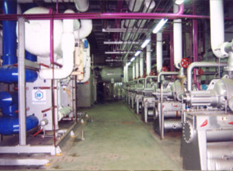stationary refrigeration unit