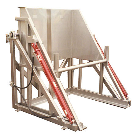 hydraulic tipping station
